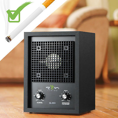 New Living Alpine Air Purifier Ionizer Ozone Generator Smoke Odor Remover :