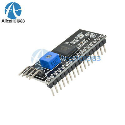 2PCS IIC I2C TWI SP​​I Serial Interface Board Module Port For Arduino 1602LCD
