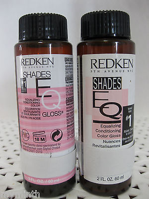 Redken Shades EQ Conditioning COLOR GLOSS Semi-Demi Perm Hair Color Series  9