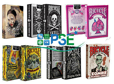 Bicycle Playing Cards Zombie Skull Magic Tricks Air Cushion Finish
