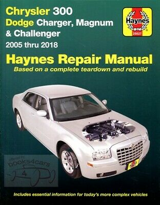 shop service repair manual haynes book chrysler 300 dodge magnum rh picclick com Clymer Manuals Clymer Manuals
