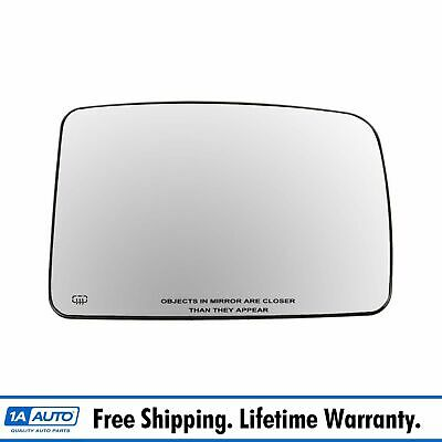 Titanium Plus Autoparts 1998-2002 Fits For Dodge Ram 1500 Front,Left Driver Side DOOR MIRROR PLATE WITH HEATED