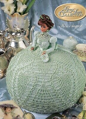 Gems of the South crochet pattern booklet NEW Miss January ~ fits Barbie dolls