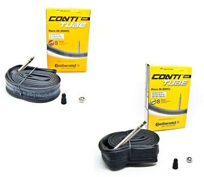 "Conti Race 26 Schlauch Continental 26""  42 oder 60 mm SV Ventil  20/25-559/571"