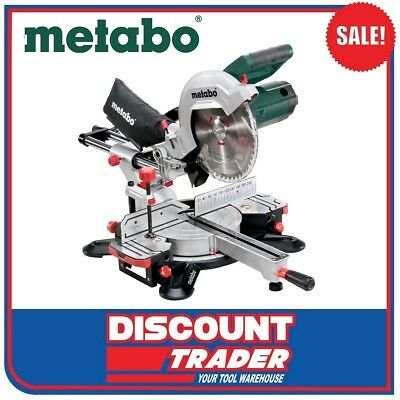 Metabo 254mm Crosscut & Mitre Saw with Sliding Function  KGS 254 M - 602540190