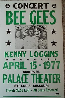 Bee Gee's with Kenny Loggins in Missouri Poster
