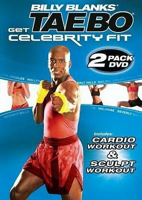 TAE BO CELEBRITY FIT CARDIO AND SCULPT 2 DVD SET NEW SEALED BILLY BLANKS TAEBO