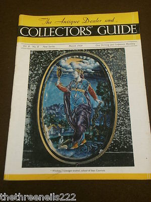 Antique & Collectors Guide - March 1954 - French Clocks