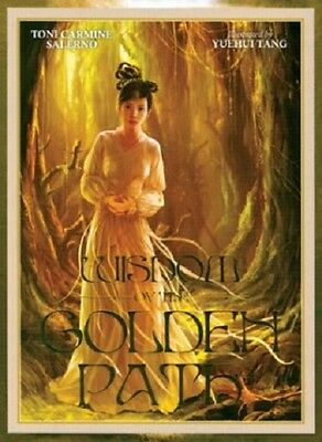 Wisdom of the Golden Path New sealed 45 cards 75pg Book Affrimations T. Salerno