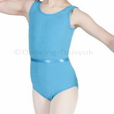 BALLET ELASTIC BELT For Uniform Leotards Dance RAD Examinations Elasicated