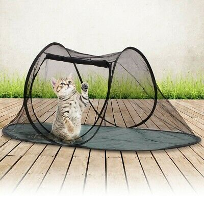 Outdoor Portable Cat Dog Cage Tent Pet Play Fun House Playpen Enclosure Foldable