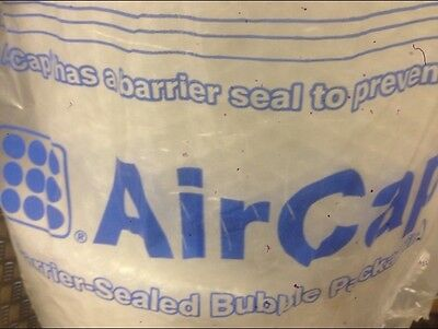 2 ROLLS SEALED AIR AIRCAP LARGE BUBBLE WRAP 750 mm X 50 m - FREE 24H DELIVERY