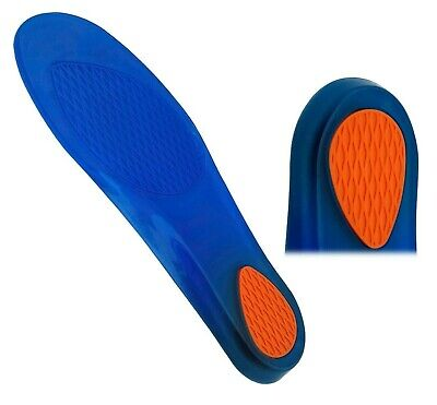 Gel Orthotic Support Insoles Pads - Flat Feet Heel Spur Ankle Arch Blisters Pain