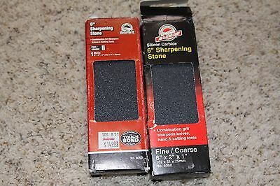 "LOT of 2 6"" x 2"" x 1"" Sharpening Stones NEW!"