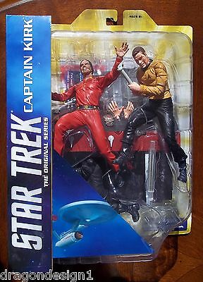 Star Trek Select Captain Kirk Vs Khan Action Figures. Original Series Episode.