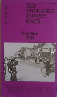 Old Ordnance Survey Maps Hoylake near Kirby Cheshire 1909 Sheet 12.03 Brand New