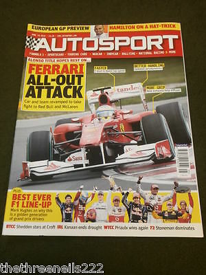 Autosport - Best Ever F1 Line-Up - June 24 2010