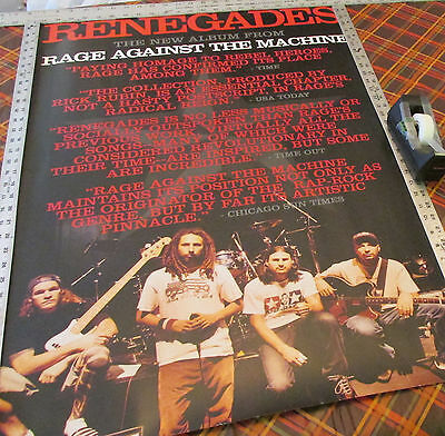 Rage Against The Machine - Renegades - Promo Poster --- K @@ L
