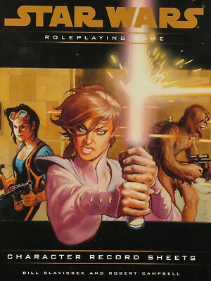 Star Wars Character Record Sheets, Great MegaExtras, Sealed, WOTC