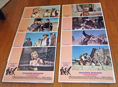 1971 Something Big Lobby Cards~set of 8~Dean Martin