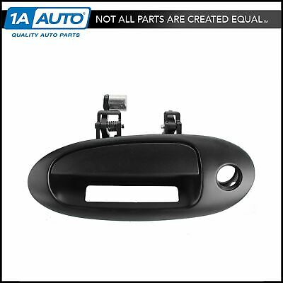 FO1310152 New Door Handle Front Driver Left Side Smooth Black LH Hand Coupe Ford