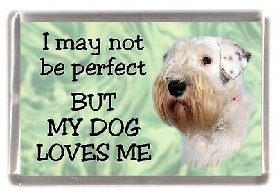 "Sealyham Terrier Dog Fridge Magnet ""I may not be perfect BUT...."" by Starprint"