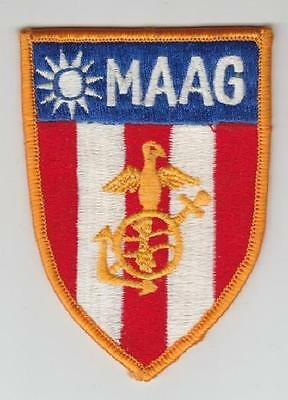 "USMC patch: Marine Contingent, MAAG Formosa - 2 3/4"" COPY"
