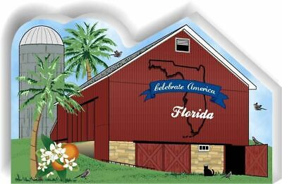 Cat's Meow Village State Barn, Florida #R1157 NEW *SHIPPING DISCOUNTS*