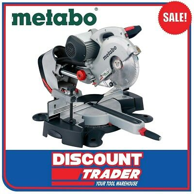 Metabo 254mm Cross & Mitre Sliding Compound Induction Saw KGS 254 I - 0102540200