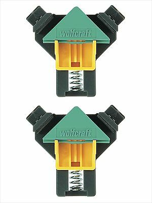 Wolfcraft Wood Mitre Joining Corner Clamps x 2 WFC-3051000