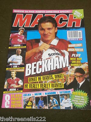 Match - Beckham  - Dec 20 1997
