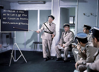 Photo Le Gendarme A New-York - Louis De Funes Et Michel Galabru - 11X15 Cm #28