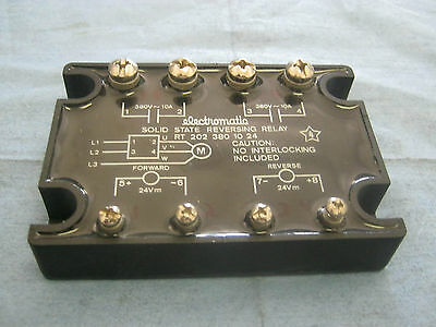 Electromatic Model: RT 202 380 10 24 Solid State Reversing Relay      O