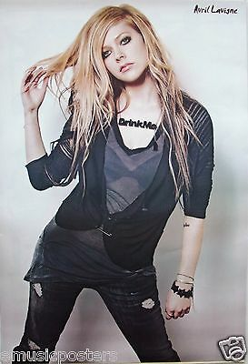 "Avril Lavigne ""pulling Hair, Wearing 'drink Me' Necklace"" Poster From Asia"