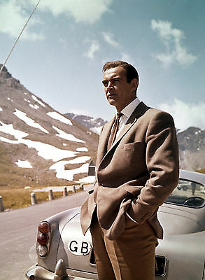 Photo Goldfinger -  James-Bond - Sean Connery /11X15 Cm #1