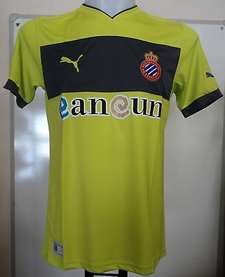 Espanyol Rcd 2012/13 Away Shirt By Puma Adults Size Xxl Brand New With Tags