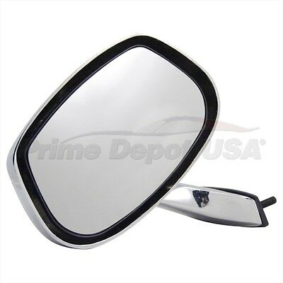 A BRAND NEW #1 HIGH QUALITY POWER CHROME MIRROR~LEFT HAND SIDE DRIVER DOOR