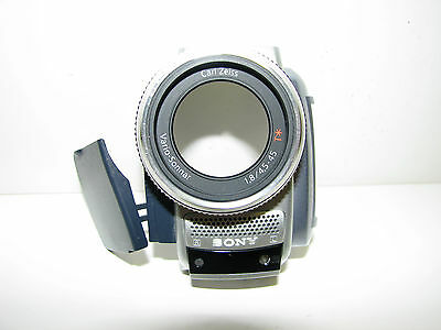Sony Dcr-Trv80 Lens Front Cover Part With Microphones Board