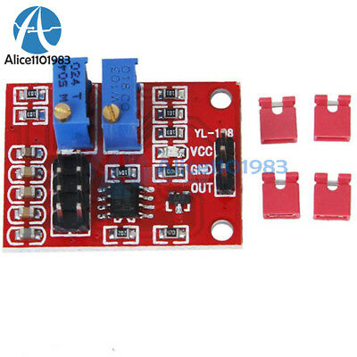 NE555 Pulse Module LM358 Duty Cycle Frequency Adjustable Module Square Wave