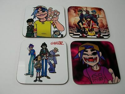 Gorillaz Art Music COASTER Set