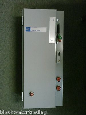 New out of Box Sprecher+Schuh Combination Starter w/ GE THM S33 Switch, CA3-60