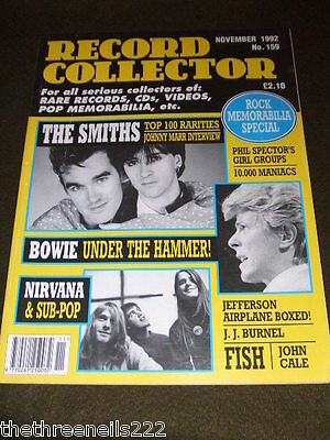 Record Collector #159 - The Smiths - Nirvana - Nov 1992