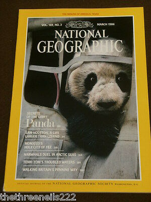 National Geographic - Giant Panda - March 1986