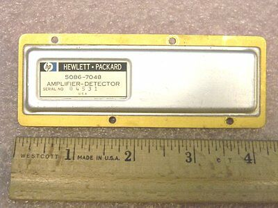 HP 5086-7048 RF Amplifier – Detector Module  Good Pull