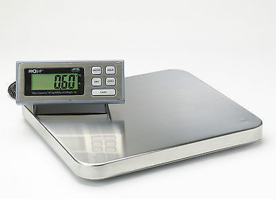 LARGE Digital 181Kg 400lb Heavy Duty Postal Parcel Shipping Platform Scales