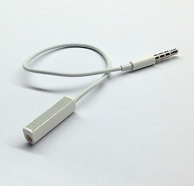 NEW Earphones Headphone Adapter Remote for apple ipod shuffle 3rd 4th generation