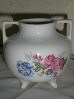 Petit Vase Porcelaine De Limoges Centre De Table Decor Floral