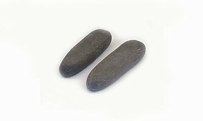 HOT STONE MASSAGE Pair of Basalt Trigger Point Stones - Type 2