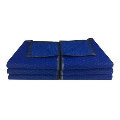 """6 Economy Moving Blanket 72x80"""" 43# Professional Quilted Storage Blanket"""