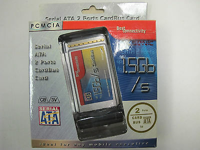 PCM CIA Serial ATA Ports x2 1.5Gb/s - NEW STOCK - CLEARANCE **BEST PRICE**